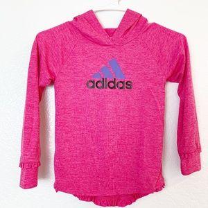 Girls Adidas Hoodie Size 6